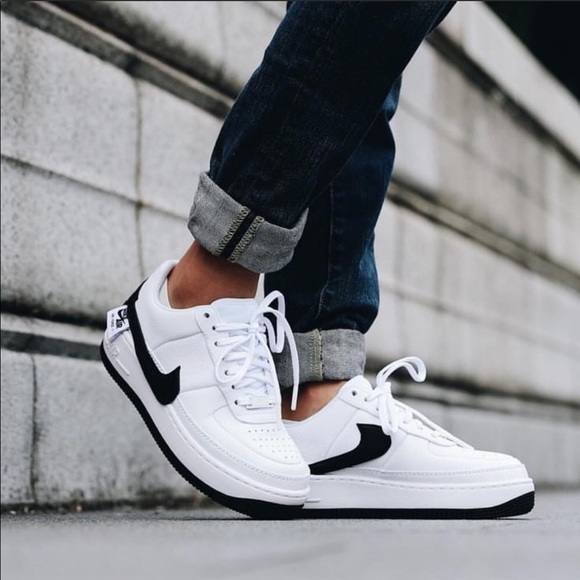 new concept a7f9a 9a7e8 Brand New Nike Air Force 1 Jester XX White + Black NWT